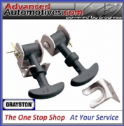 Grayston Bonnet Boot Hooks Small Rubber Type Ideal Classic Mini Etc - GE62